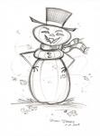 The Original Frosty the Gourdman